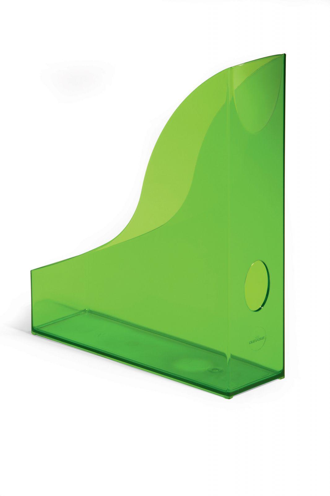 Úložné boxy - sada 6 kusů - Transp. Zelené