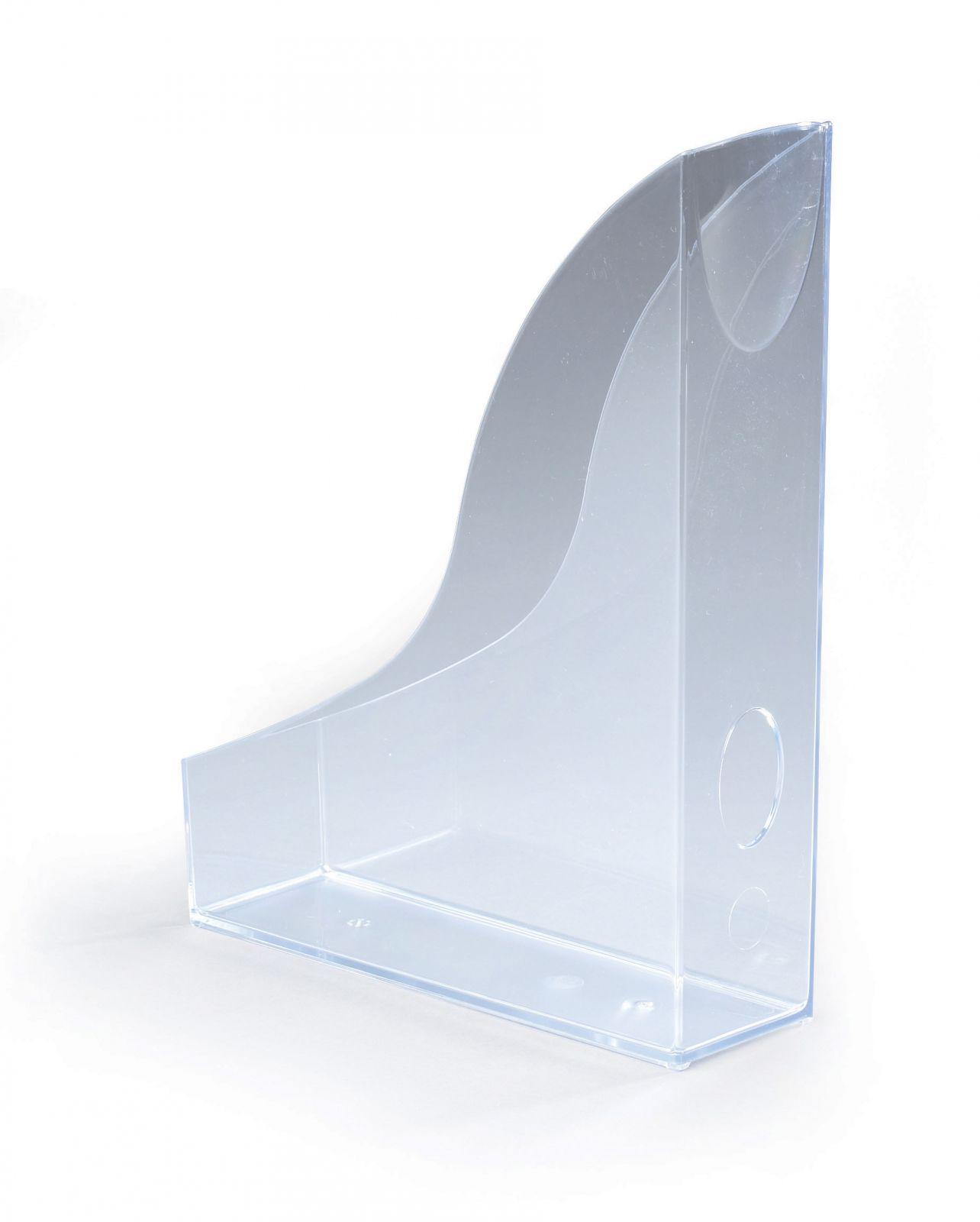 Úložné boxy - sada 6 kusů - Transparentní