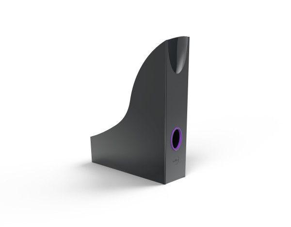 Úložné boxy Varicolor - 6 kusů - Antracit/Fialová