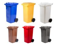 Plastové popelnice