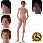 Chlapecká figurína CloseUpOne - póza 2