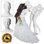 Zamilovaná dvojice - Bílá