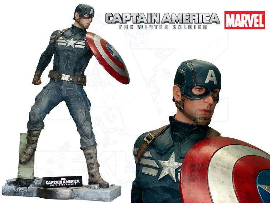 Filmová Figura v životní velikosti - CAPTAIN AMERICA Návrat prvního Avengera
