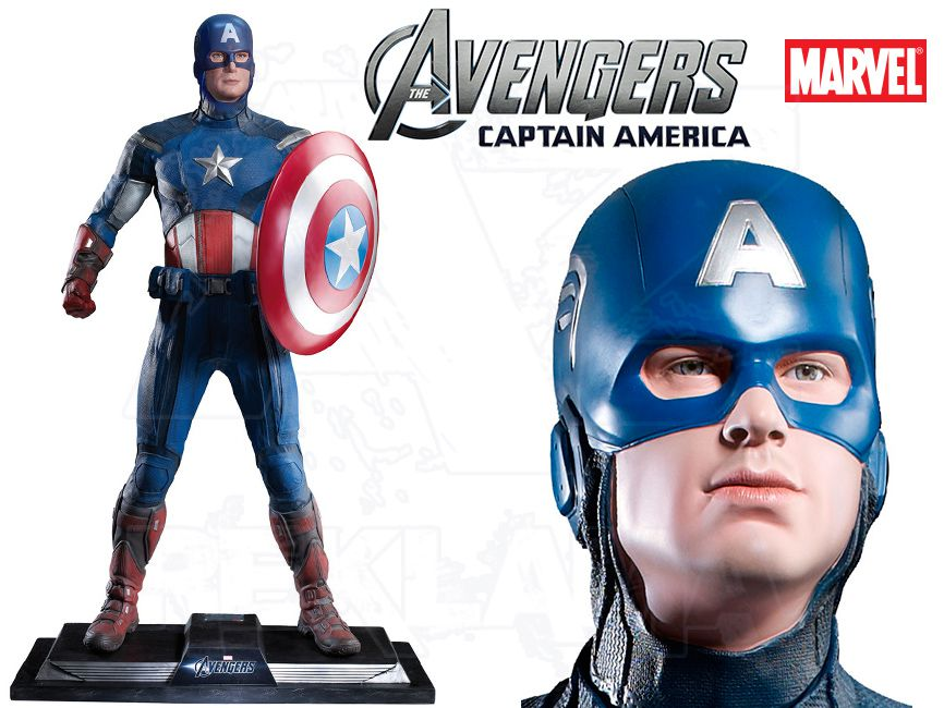 Filmová Figura v životní velikosti - CAPTAIN AMERICA Avengers