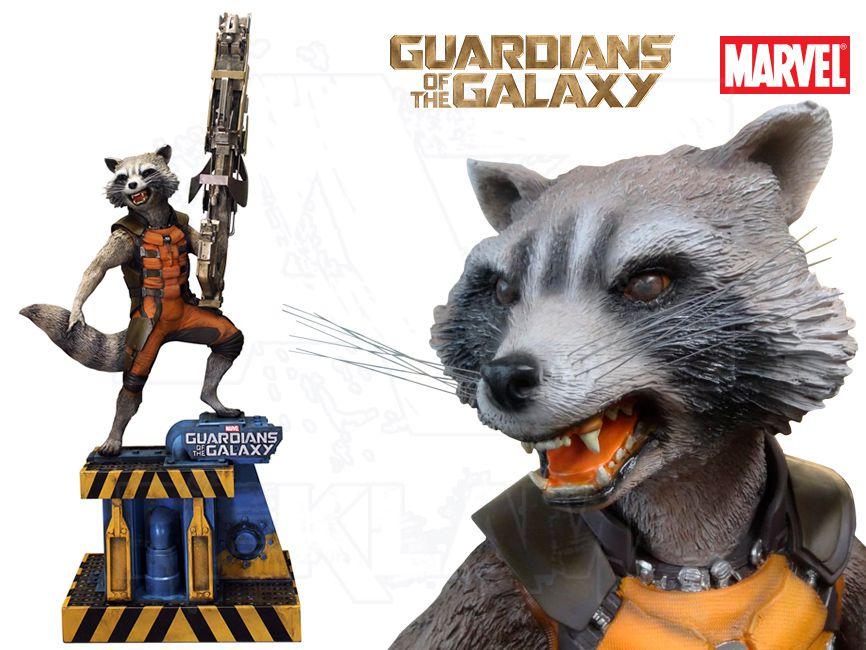 Filmová Figura v životní velikosti - Guardians of the Galaxy ROCKET Raccoon