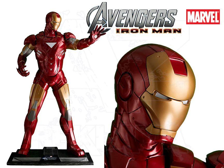 Filmová Figura v životní velikosti - IRON MAN Avengers