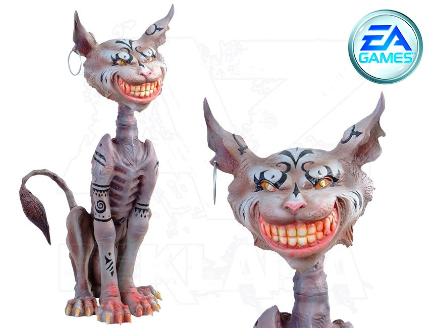 Herní Figura v životní velikosti - Alice McGee - CAT