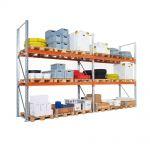 Paletové regály pro palety do 500 kg
