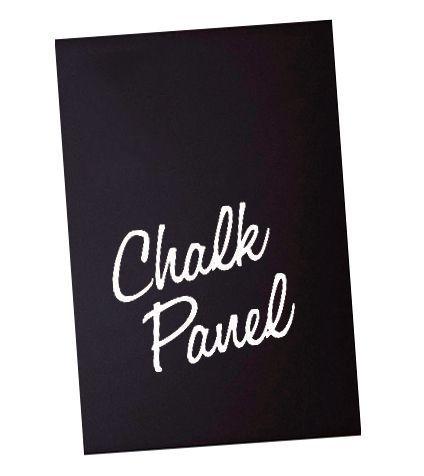 Černý panel 600x800 mm interiérový