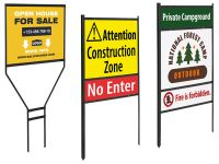 Přenosné rámy pro uchycení reklamních tabul