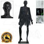 Dámská abstraktní figurína ART 1 - Černá