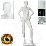 Dámská abstraktní figurína ART 3 - Bílá