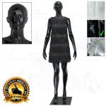 Dámská abstraktní figurína ART 7 - Černá