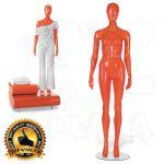 Dámská figurína STRAIGHT póza 1 Oranžová