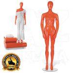 Dámská figurína STRAIGHT póza 2 Oranžová