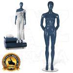 Dámská figurína STRAIGHT póza 3 Modrá
