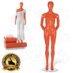 Dámská figurína STRAIGHT póza 3 Oranžová