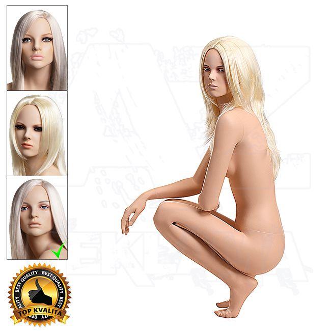 Dámská figurína VISION - Tělová s Make-up póza 10