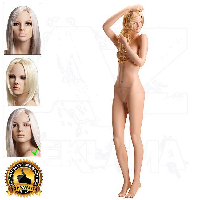 Dámská figurína VISION - Tělová s Make-up póza 12