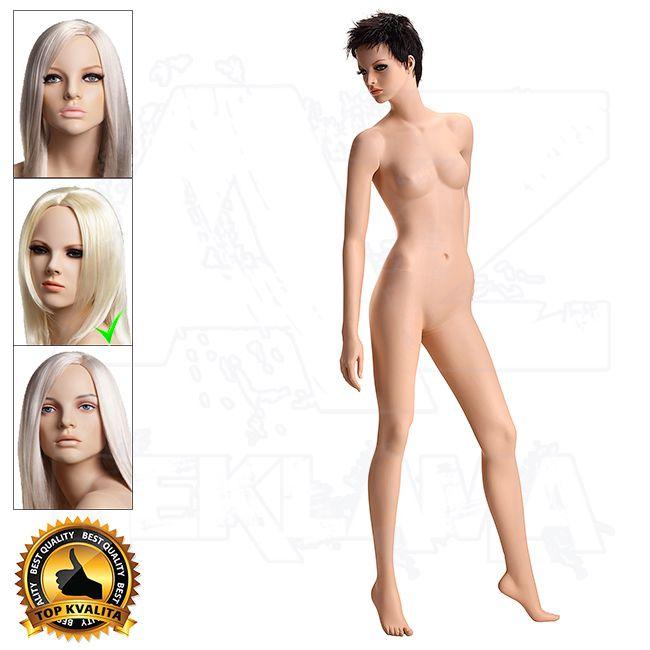 Dámská figurína VISION - Tělová s Make-up póza 3