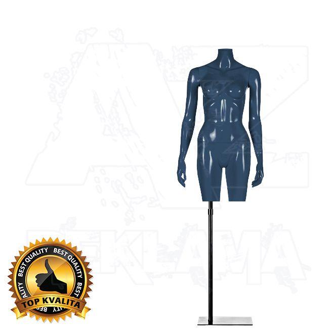 Dámské torzo bez hlavy kolekce STRAIGHT - Modré