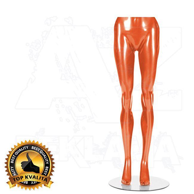 Dámské torzo nohou kolekce STRAIGHT - Oranžové