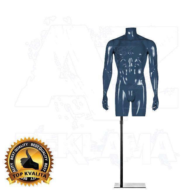 Pánské torzo bez hlavy kolekce STRAIGHT - Modré