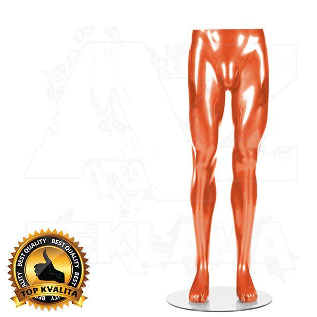 Pánské torzo nohou kolekce STRAIGHT - Oranžové