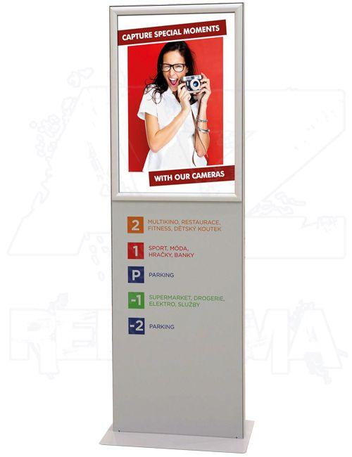 Oboustranný Informační Plakátový Totem A2