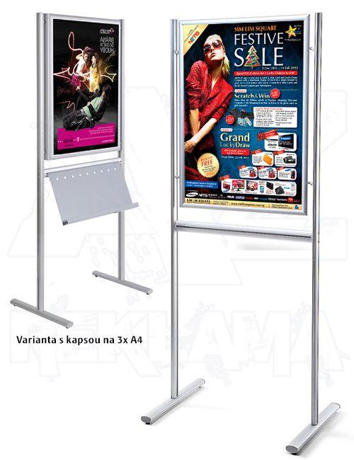 Reklamní stojan Info Board s klaprámem B1