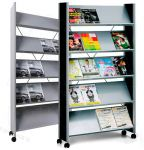 Design Brochure Rack