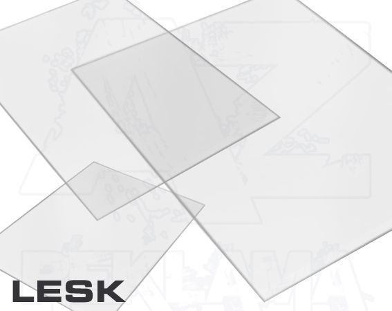 Přířezy formáty z tvrdé PVC fólie 1/2A4 Lesklý A-Z Reklama CZ