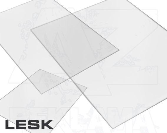 Přířezy formáty z tvrdé PVC fólie B2 Lesklý A-Z Reklama CZ