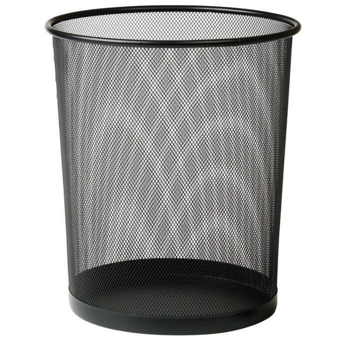 Drátěný Kancelářský odpadkový koš na papíry, Objem 17 l