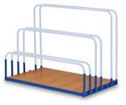 Plošina k vozíku pro deskový materiál