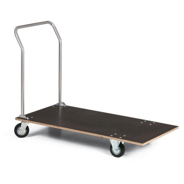 Plošinový vozík s překlížkou - 1200x600 mm - nosnost 150 kg