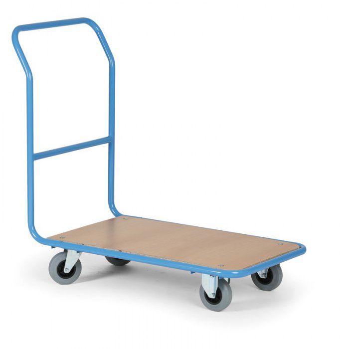 Plošinový vozík - 830x530 mm - nosnost 300 kg