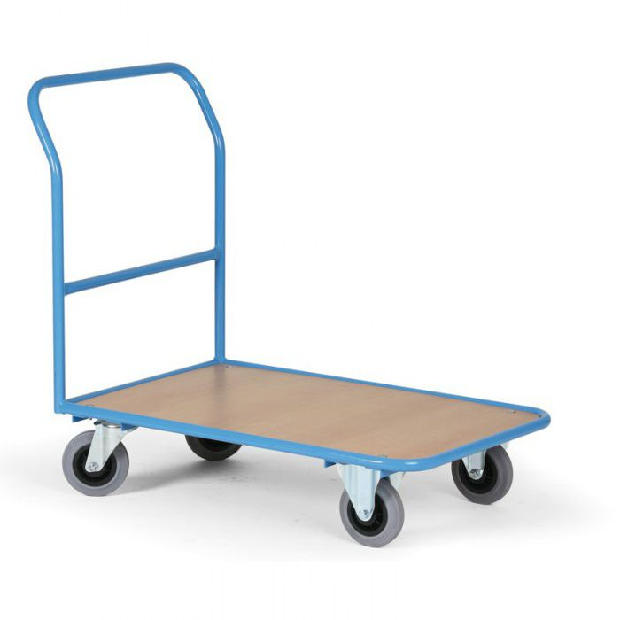 Plošinový vozík - 970x660 mm - nosnost 300 kg