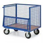 Skříňový vozík - 4 drátěné stěny