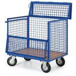 Skříňový vozík - 5 drátěných stěn