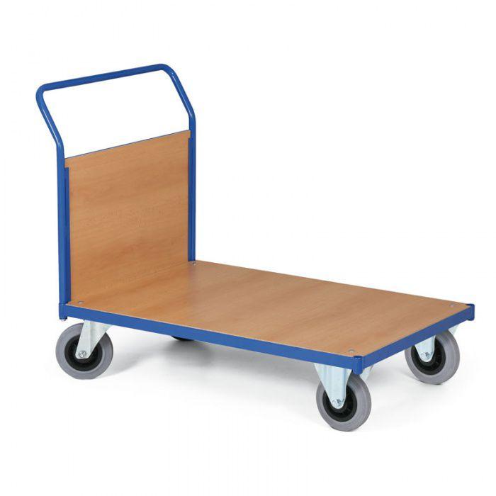 Stavebnicový plošinový vozík - výplň madla - 750x500 mm - nosnost 200 kg