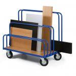Vozík na deskový materiál - plošina 1200x800 mm