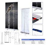 Roll Up Banner Standard 85x200 konstrukce A-Z Reklama CZ