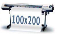 Tisk banneru 100x200cm