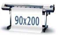 Tisk banneru 90x200cm