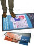 Výměnný reklamní systém na podlahu 4xA4 A-Z Reklama CZ