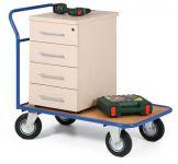 Jednoduché plošinové vozíky