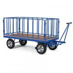 Těžké plošinové vozíky a plošiny