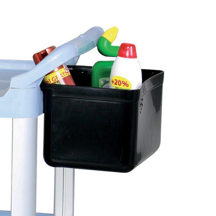 Závěsný koš malý - pro Plastový policový úklidový vozík
