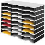 Box - 24 x přihrádka standard / 8 pater - černé stěny